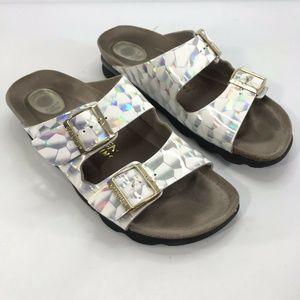 Ethem Genuins Slide With Float System Sandals